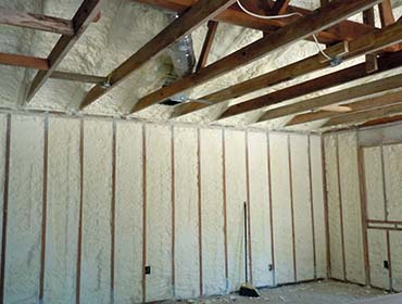 Spray Foam insulation contractor Hancock County Maine
